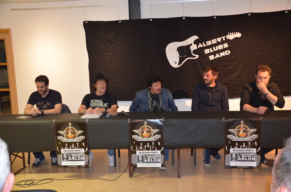 Albert Blues Band fait son coming out